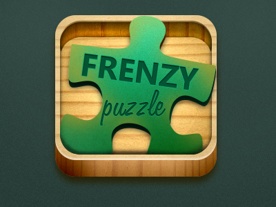 Frenzy puzzle windows mobile icon game design