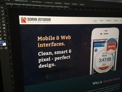 My Future Website ui ux user interface user experience web site web design portfolio responsive redesign