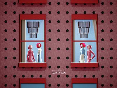 Big Business illustration digital 3d c4d digitalillustration