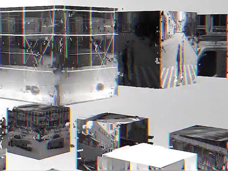 NYC VLOG contemporary art 3d digital moving image motion