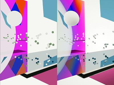 Abstract java code processing c4d illustration contemporary 3d digital