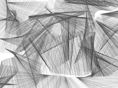 Generative Shapes coding white black openframeworks of shapes generative