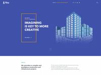 Construction Company UI/UX Design