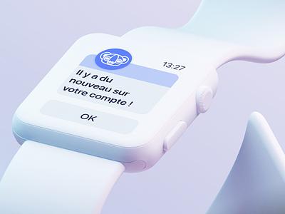 Keeping Opär's promise «100% with you» ⌚️ notification watch interface logo thegarage webdesign website app ux ui watch branding app design design
