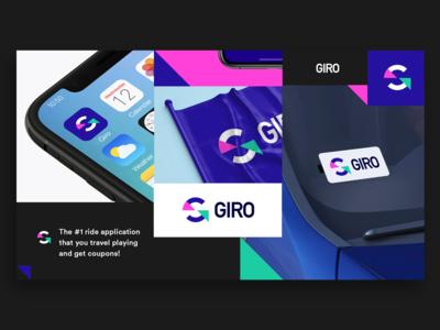 Giro App Branding