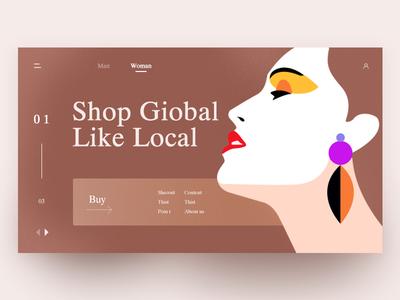 Shop Giobal Like Local