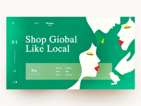 Shop Giobal Like Local