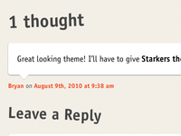 CSS3 Comment