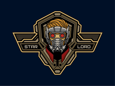 Star-Lord Badge