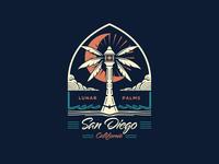 San Diego Lunar Palms