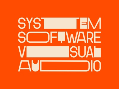 Font Stretch Systematical fonts type typeface software visual audio stretch lettering art layout lettering hand font typography