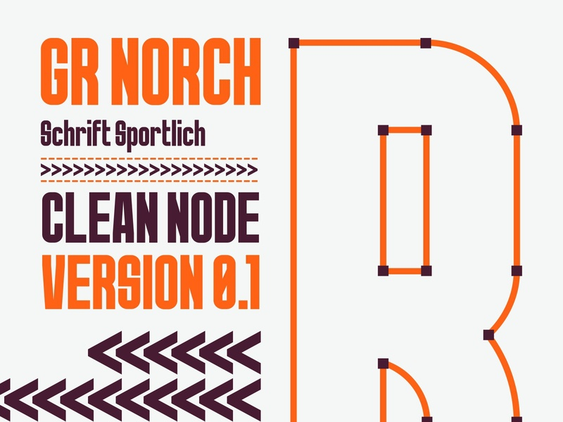 GR Norch Typeface - R type Inspiration 36 days of type sports sports branding sports design schrift vector design ui new fonts font awesome 36daysoftype branding font typography