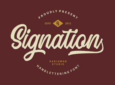 Signation - Script Font