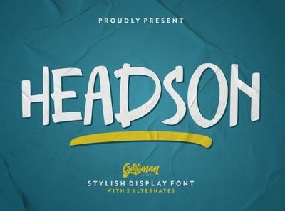 Headson - Stylish Display Font