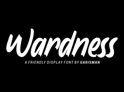 Wardness - Display Font