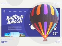 Button Baloon Sample Websites - Attractype Reborn Font