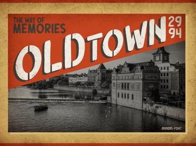 Oldtown Poster logo font design fonts typography handlettering free fonts poster art font poster design town poster retro poster vintage poster poster
