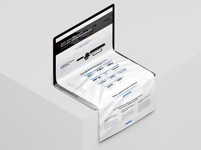 Google Microsite for Meet Hardware ui ux graphic design microsite figma web design