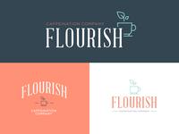 Flourish Logo Mockups