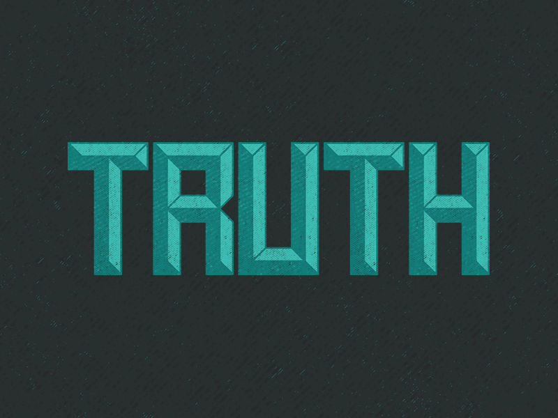 Truth Display Font texture truth type display-font font