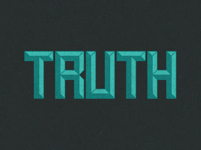 Truth Display Font