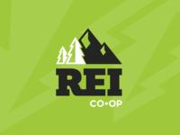 REI Logo Rebrand