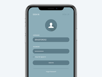 Daily UI - Sign Up #001