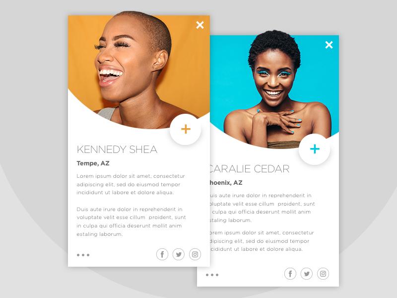 Daily UI - User Profile - #006 ux ui mobile icon graphic digital design daily app