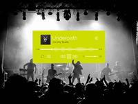 Daily UI - Music Player #009