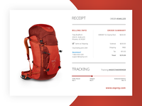 Daily UI - Email Receipt #017