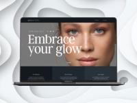 QUALITTY - Skin Homepage mockup