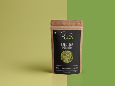 package design for GOOHUNGRY Super Foods package design