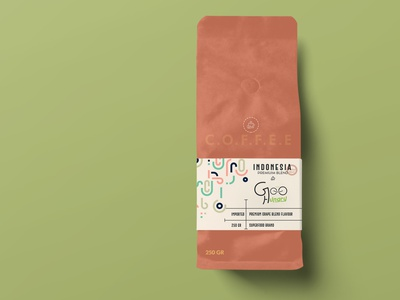 Coffee Bag Mockup design mockup