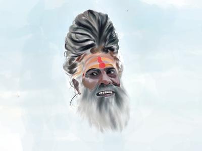 guru art brushes india digital painting digitalart drawing illustration