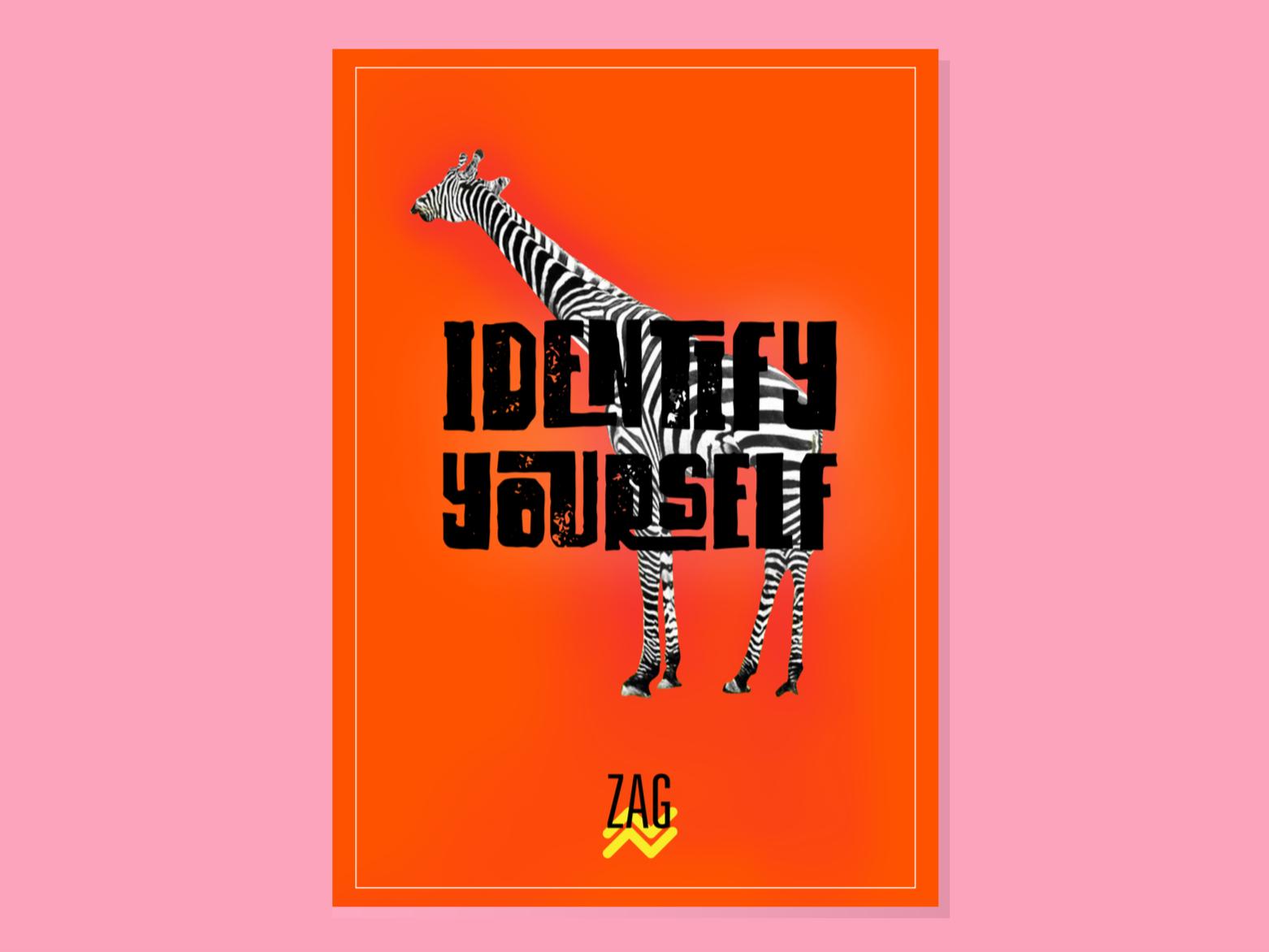 Promotional Poster for ZAG, the soft drink illustration branding promotion poster design poster design adobe illustrator