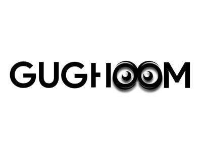 Logo - Gughoom identity branding web vector after effect typography logo illustrator animation photoshop minimal graphic  design design illustration