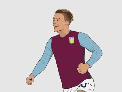 Aston Villa's, Jack Grealish