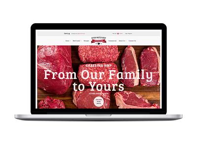 River Watch Beef Website ecommerce wordpress agriculture meat beef responsive website