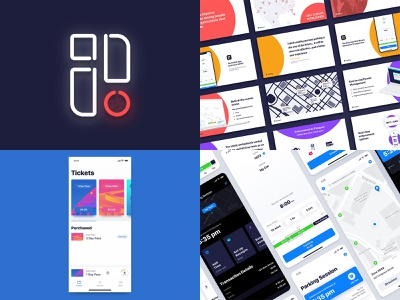 2018 Year in Review app design ui brand passport year in review 2018