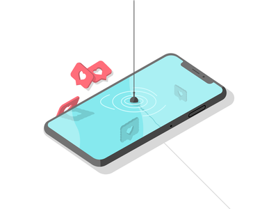 Fishing For Clout illustration figma plugins pond likes iphone thirsty clout instagram fishing