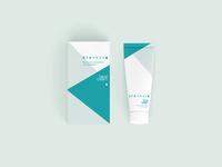 Handcare cream packaging design
