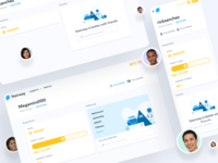 Stairway Profile Page v1 product design web design ux ui profile