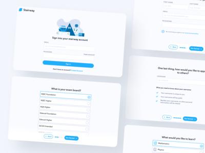 Updated Signup Page product design ui desktop