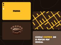 Muhu Coffee Branding 1 typogaphy vector branding