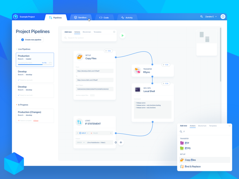 Buddy Playoff: A Node Style Pipeline Editor product design pipeline web developers nodes web application web design