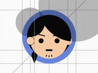 icon design/avatar of iconstall's member team