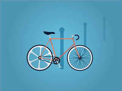 Fixie ecology summer bycicle fixie
