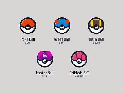 Pokemon - Gotta Catch 'Em All vector flat icon videogames gameboy pokemon