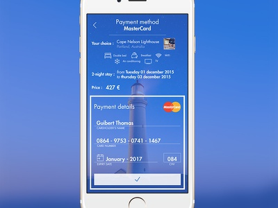 Credit Card Payment credit card payment desktop ux ui app