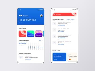 Bank Application Concept